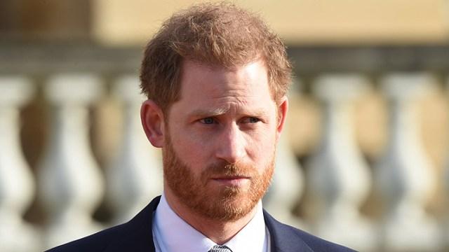 El príncipe Enrique hizo su primera aparición pública desde la crisis de la familia real