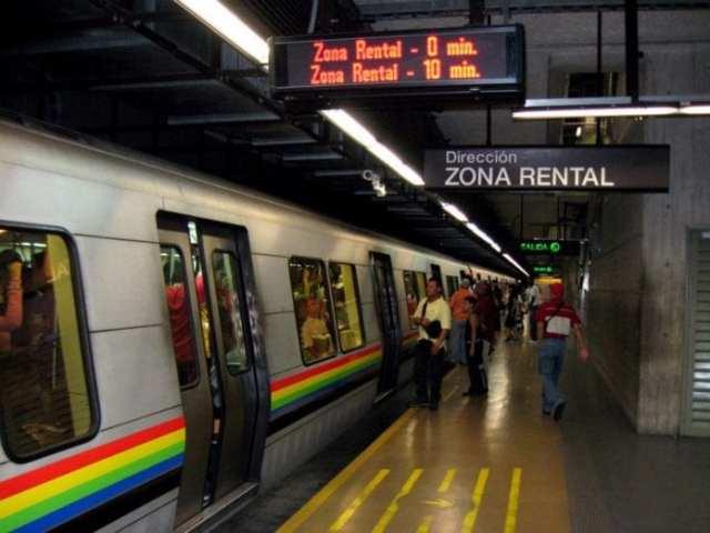 Línea 2 del Metro de Caracas presenta falla eléctrica este viernes en la mañana