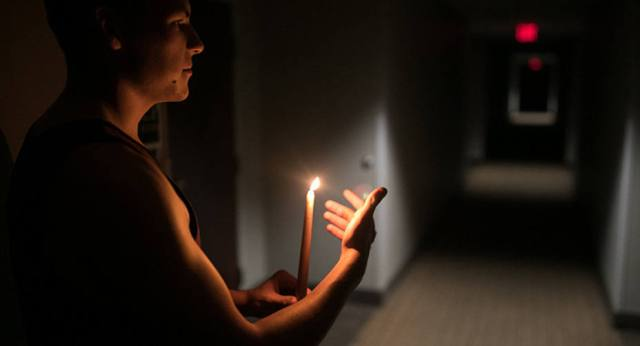 Por tercer día consecutivo el 50 % del municipio Carrizal amaneció sin luz