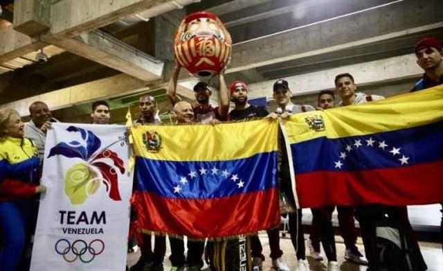 Equipo masculino de voleibol regresó al país con el cupo a Tokio 2020