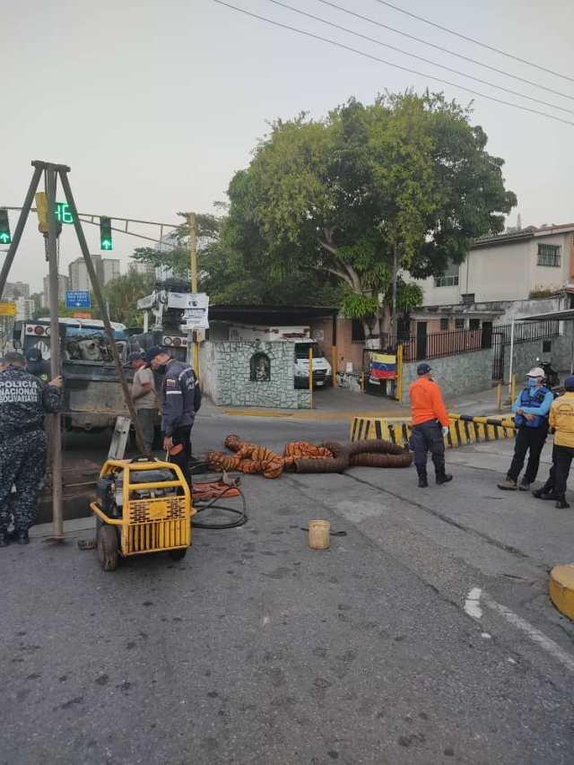 Alcaldía de Los Salias ha ejecutado más de 15 obras  para reparar fallas ocasionadas por Hidrocapital