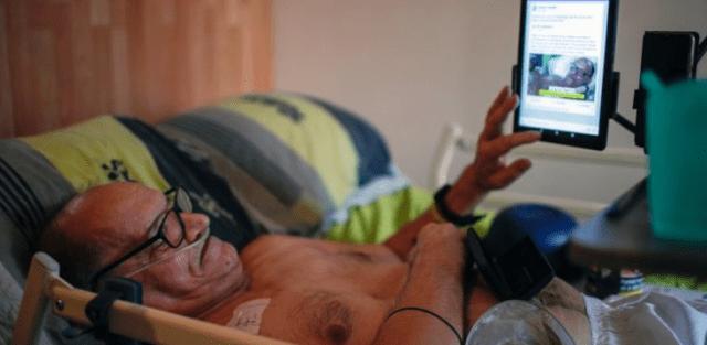 Facebook bloquea el video de un francés que se está dejando morir en vivo