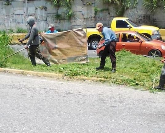 Dirección de Mantenimiento Municipal no detiene jornadas de desinfección en Los Salias