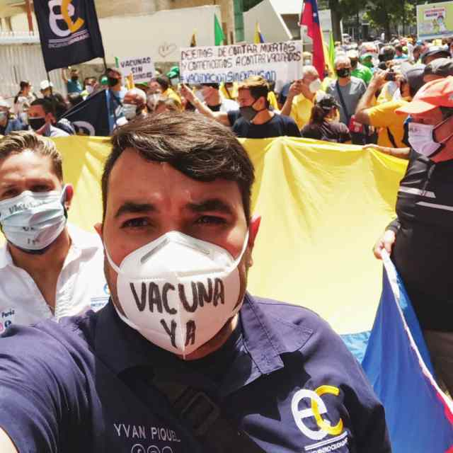 Yvan Piquel: «Urge una vacunación masiva, que priorice a nuestro personal de salud en los Altos Mirandinos»