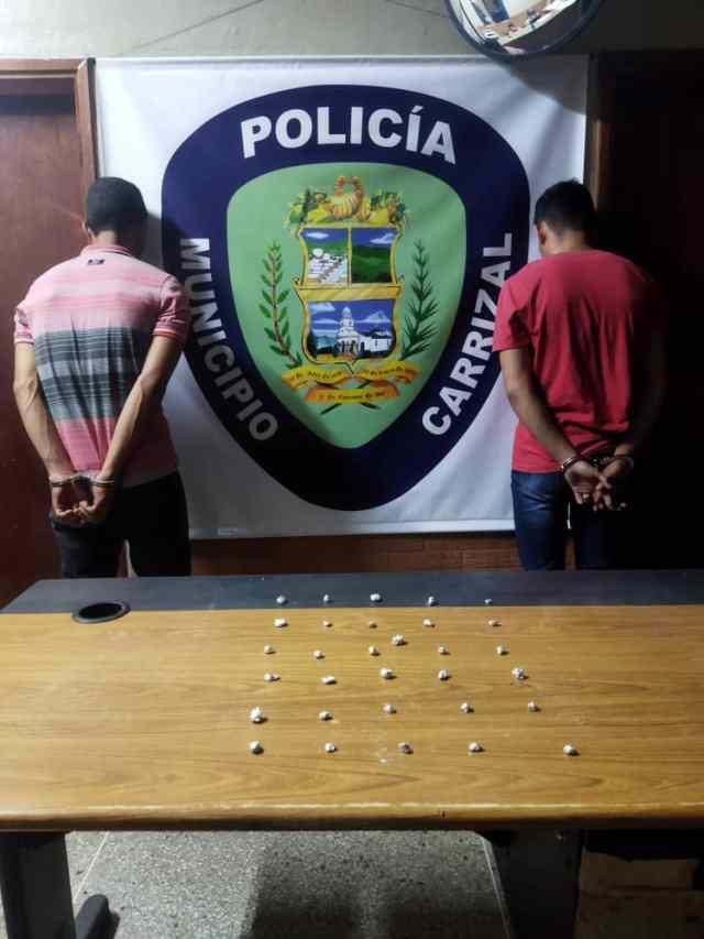 Policarrizal desmanteló banda delictiva dedicada al microtráfico de drogas
