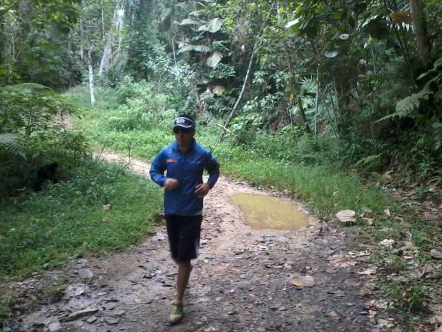 Un rincón asombroso para correr justo donde culmina la Gran Sabana