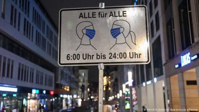 Conmoción en Alemania tras asesinato de un joven por el uso de la mascarilla