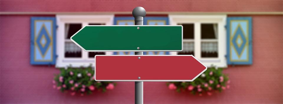 Entscheidungsfindung und vier Eigenschaften
