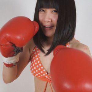 美女との主観&客観視点でMXボクシング!明海こう&揚羽&宮沢ちはるに殴られまくる疑似体験!!