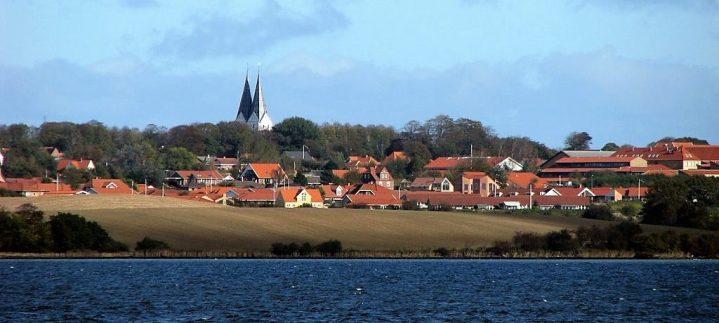 Områdebyerne med Broager by og kirke