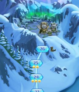 アナと雪の女王 Free Fall ステージ26