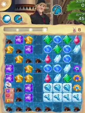 アナと雪の女王 Free Fall 無限 ステージ174 攻略のコツ