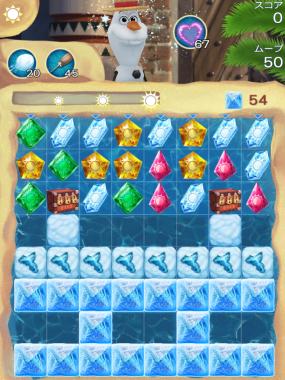 アナと雪の女王 Free Fall 無限 ステージ185 攻略のコツ