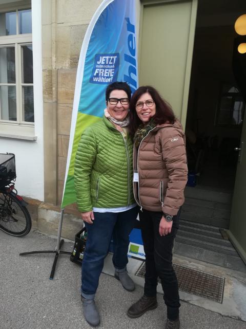 Freie Wähler in Pflugfelden