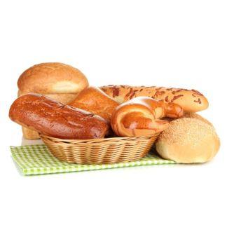Backwaren und Frühstücksbeutel