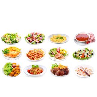 Suppen, Salate und Mittagstisch