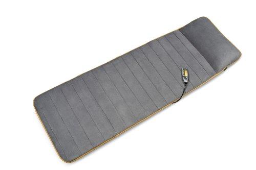 Medisana MM 825 Massageauflage - Massagematte mit 5 Programmen und 4 Massagezonen - Massageliege mit Wärmefunktion - Fleece-Bezug und 2 Intensitätsstufen für Rücken, Nacken und Kopf - 88955