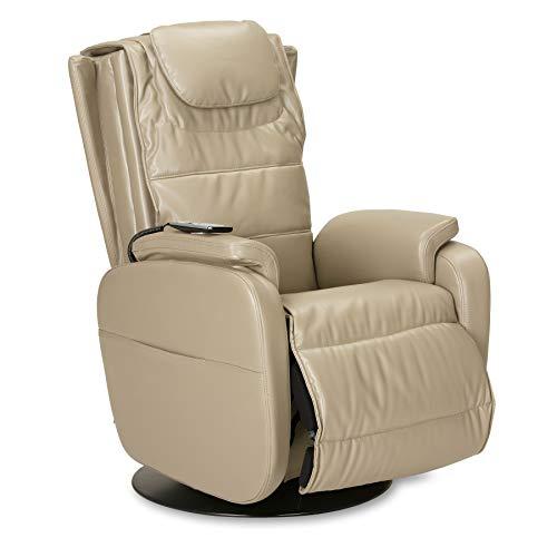 aktivshop Massagesessel Fernsehsessel TV-Sessel mit Wärmefunktion & Shiatsu-Massage (Schilf)