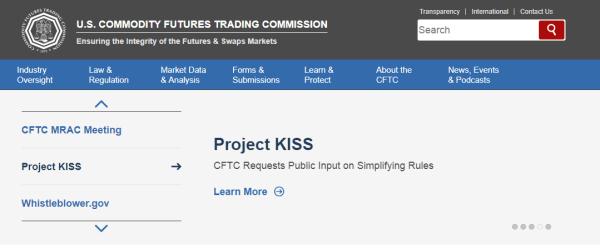 米商品先物取引委員会(CFTC)