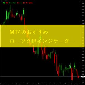 MT4のおすすめローソク足インジケーター