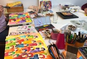 Workshop Weibsbilder im Atelier
