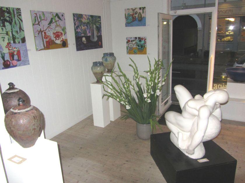 Stemning fra galleriet
