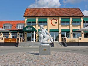 Jerry Adder Havfruen mod hotellet afstand - risom.dk