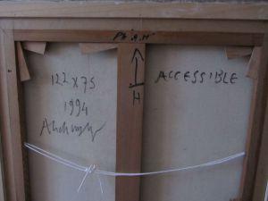 Alechinsky - Accessible - back - risom.dk