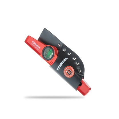 Gerüstbau Wasserwaage mit Magnet Rot 25cm