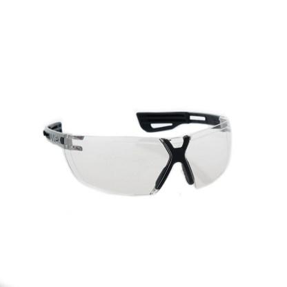 Uvex X-fit Schutzbrille Klar Weißer Bügel 1