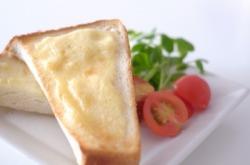 バターやマーガリンの代わりに烏骨鶏卵マヨネーズを!