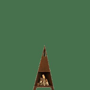 Terrasseovn 110 cm høj