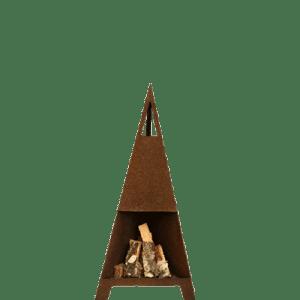 Terrasseovn 145 cm høj