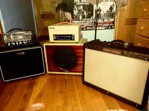 Vox Nightrain, Xtonebox, Fender Hot Rod Deluxe