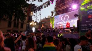 Concierto de La Senda De Afra en la Plaza del Rey en Madrid (2016)