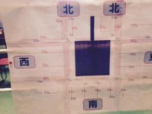 大阪城ホール アリーナ パターンC-4 座席表