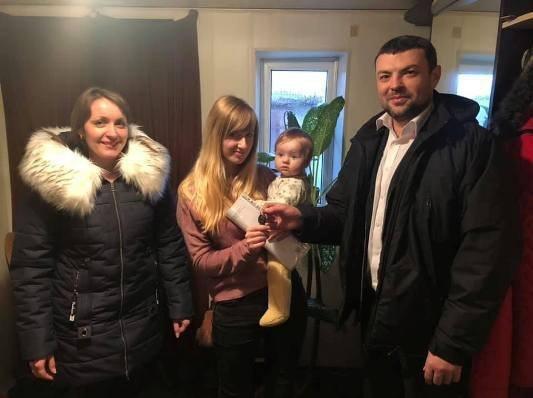 В Одесской области двое детей-сирот получили собственный дом. Фото