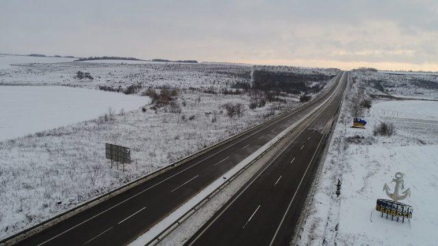 В Службе автодорог сообщили о состоянии проезда на дорогах Одесской области