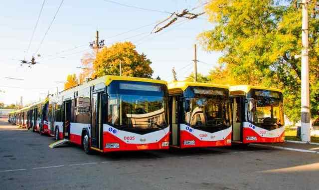 Из-за обрыва проводов в Одессе не ходит три троллейбуса