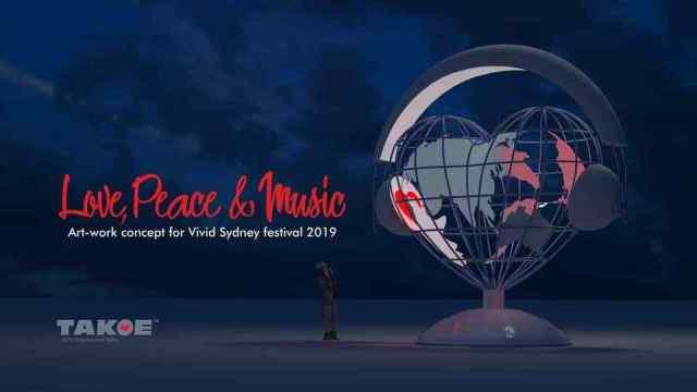 Скульптуру одесского художника установили в центре Сиднея. Фото