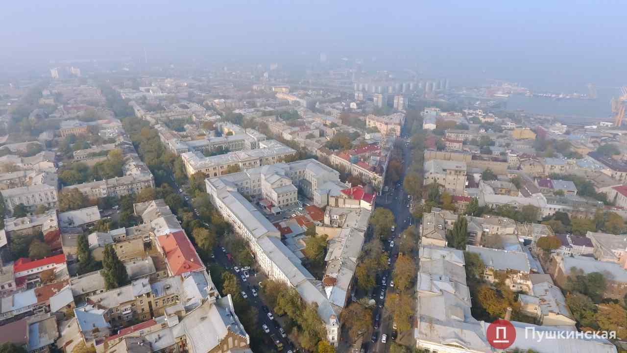 I уровень опасности: ГСЧС предупреждает о сильном тумане в Одессе и области