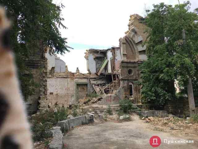На собственника Масонского дома выписали админпротокол: он почти два года не может предоставить документы на реконструкцию здания