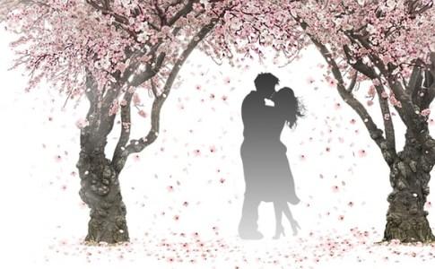 恋愛ラブストーリー風のイラスト
