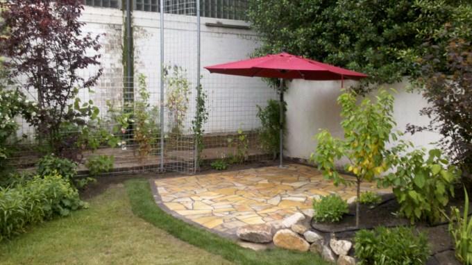 Gartengestaltung - Rankgitter