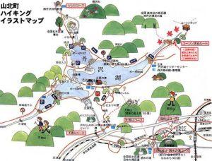 丹沢湖 マップ