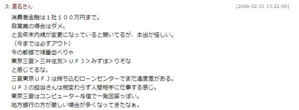 三井住友銀行の住宅ローン審査の口コミ