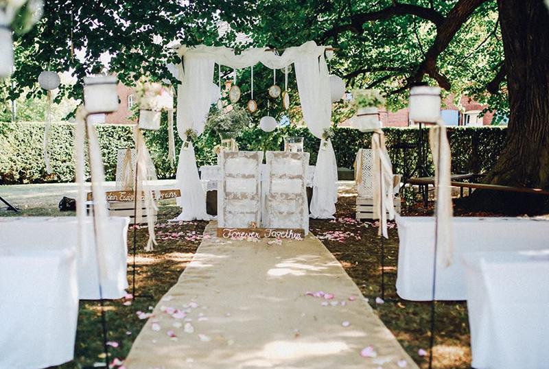 Hochzeitsglck Hochzeitsdekoration Und Tischdekoration