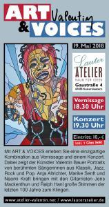 ART & VOICES - Vernissage und Konzert