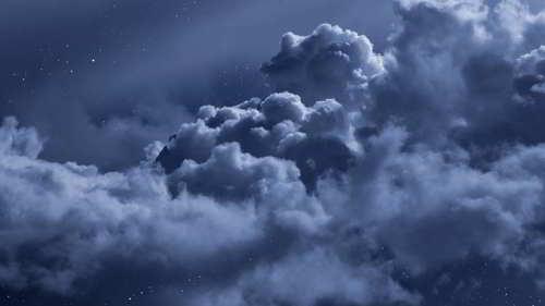 soñar con nubes