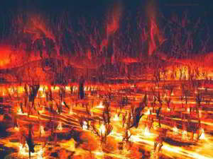 significado de soñar con el infierno